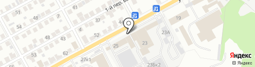 ТДК Поволжье на карте Ульяновска