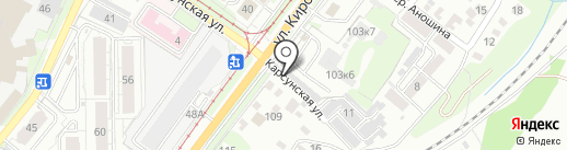 Автосервис на карте Ульяновска