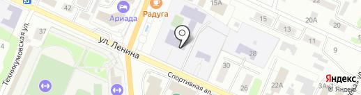 Средняя школа №9 им. А.С. Пушкина на карте Волжска
