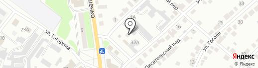 Гольфстрим на карте Волжска