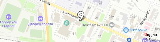 Igora на карте Волжска