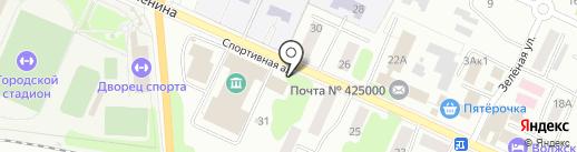 Coffee & Pizza на карте Волжска
