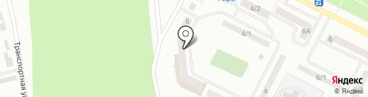Городская поликлиника №1, ЦГБ на карте Волжска