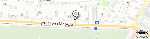 Автозвук73 на карте Ульяновска