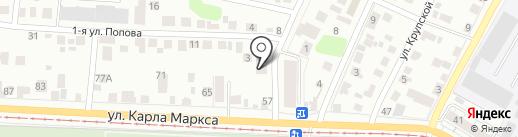 IDEM на карте Ульяновска
