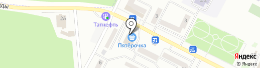 Волжская Гавань на карте Волжска