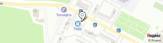 Магазин мяса птицы на карте Волжска