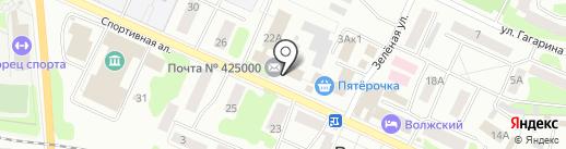 Почта Банк, ПАО на карте Волжска