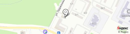 Пивной двор на карте Волжска