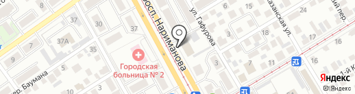 Кабинет массажа на карте Ульяновска