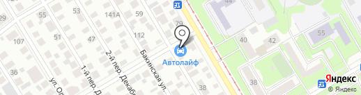 Avtolife на карте Ульяновска