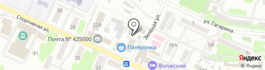 МТС на карте Волжска