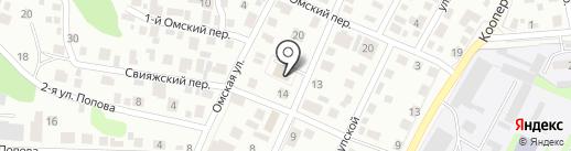 Рестрим на карте Ульяновска