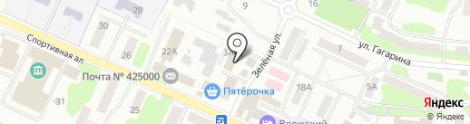 Стиль на карте Волжска