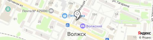 Сбербанк, ПАО на карте Волжска