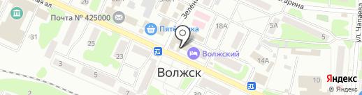 Pioner на карте Волжска