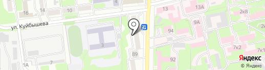 Ювелирная мастерская на карте Ульяновска