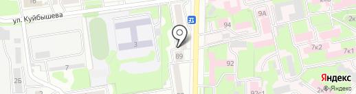 Violet на карте Ульяновска