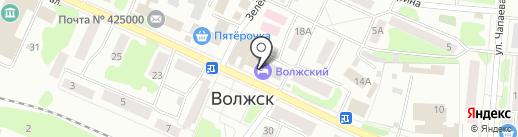 Волжский городской комитет по управлению имуществом на карте Волжска