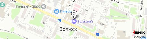 Агентство недвижимости на карте Волжска