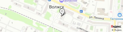 Люкс на карте Волжска