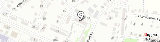 Участковый пункт полиции №2 на карте Волжска