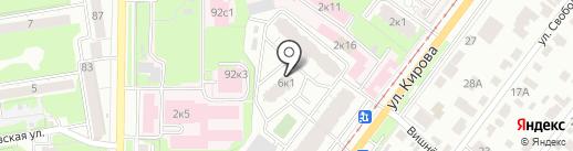 Mojo на карте Ульяновска