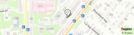 Адвокатский кабинет Полесовой Л.П. на карте Ульяновска