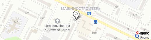 Рубль Бум на карте Волжска
