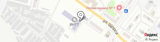 Российская академия предпринимательства на карте Волжска