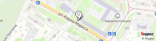 Военная комендатура г. Ульяновска на карте Ульяновска