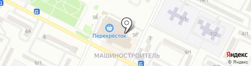 Центр на карте Волжска