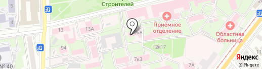 Ульяновская областная клиническая больница на карте Ульяновска