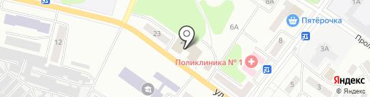 Рессора на карте Волжска