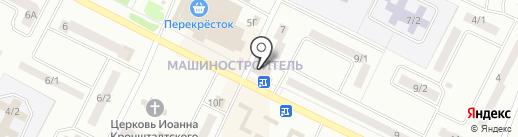 Красное & Белое на карте Волжска