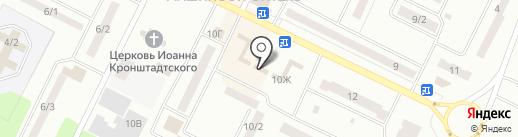 Канцлер на карте Волжска
