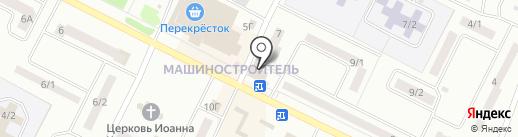 Крона на карте Волжска