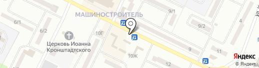 Продукты Ермолино на карте Волжска