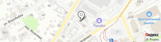 Агентство регионального государственного строительного надзора и государственной экспертизы Ульяновской области на карте Ульяновска