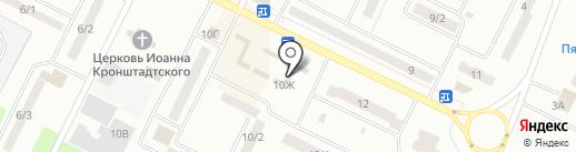 Люция на карте Волжска