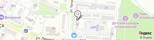 Аптека №74 на карте Волжска