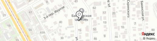Церковь Евангельских Христиан-Баптистов на карте Ульяновска