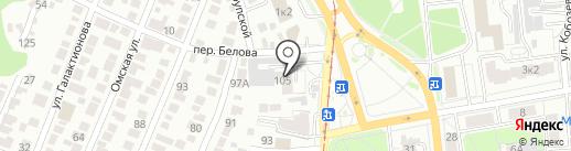 Росхим на карте Ульяновска