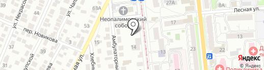 Клюква на карте Ульяновска