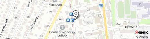 Remontulsk на карте Ульяновска