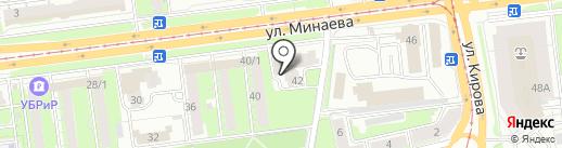 Маргоша на карте Ульяновска