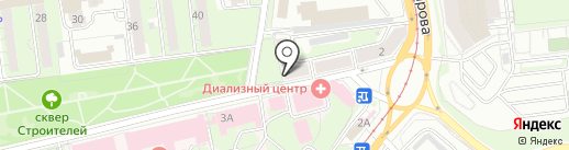 Попутный ветер на карте Ульяновска