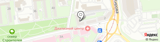 Компания по продаже слуховых аппаратов на карте Ульяновска