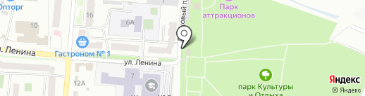 Fish-ka на карте Волжска
