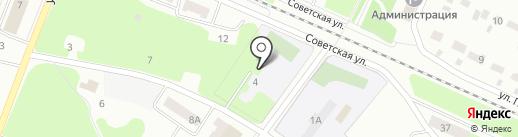 Средняя общеобразовательная школа №5 с углубленным изучением отдельных предметов на карте Волжска